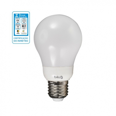 Lamp Bulbo Led 48w 480lm 3000k Bivolt