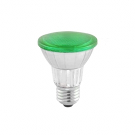 LAMP.PAR20 LED 7W VERDE BIVOLT