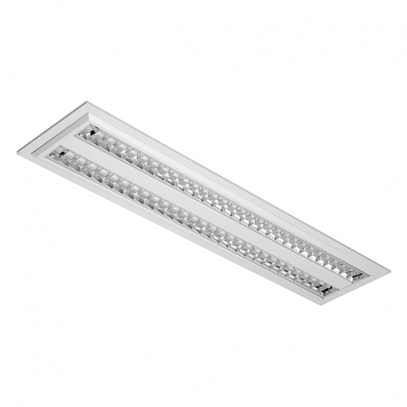 Lum. de Emb. 2x28w S/lamp S/re