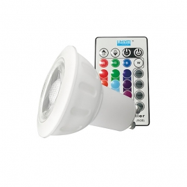 LAMP. GU10 LED 3,5W RGB BIV - Luminatti - LM713