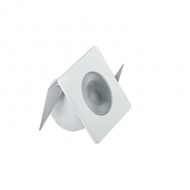 MINI EMBUT. LED 1W 2700K BIV BRANCO