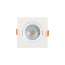 MINI SPOT LED QUAD. EMBUTIR 5W 4000K BIVOLT