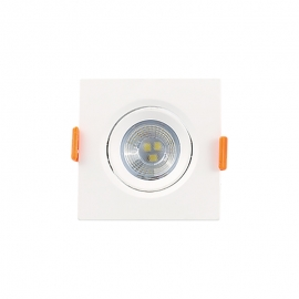 MINI SPOT QUAD. LED 3W 4000K BIV